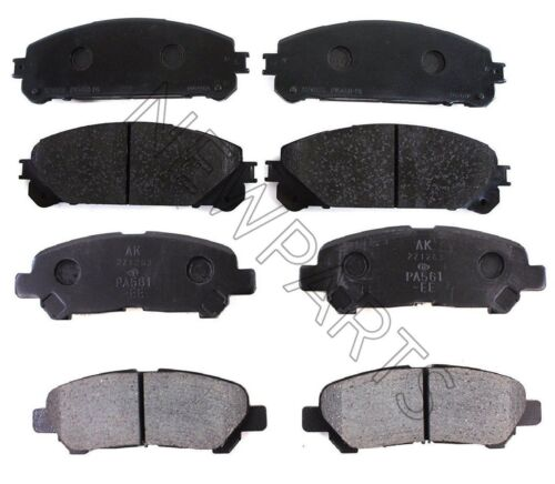 For Front /& Rear Disc Brake Pads Kit Genuine for Toyota Highlander 2008-2013