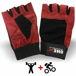 Weight-Lifting-Exercise-Gloves-Workout-Wrist-Wrap-Sports-Body-Building-Training