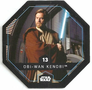 2015 Carte Leclerc Star Wars N°13 Obi Wan Kenobi