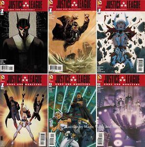Details about JUSTICE LEAGUE Gods and Monsters SET #1 2 3 Batman Wonder  Woman DC Comics 1st