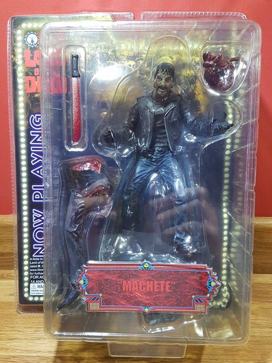 Sota Toys, Now Playing: Land of the Dead MACHETE  action figure boxed
