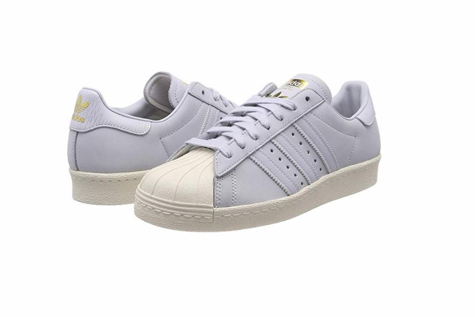 ADIDAS B41520 B41520 B41520 Superstar 80s W Wmn's (M) Aero bluee Aero bluee Nubuck Casual shoes 3468d3