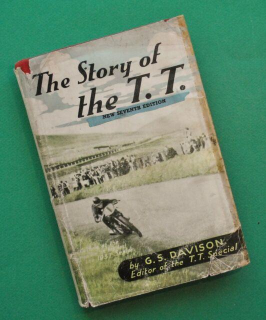 1907-54 JAP Triumph Norton BSA AJS Manx Story of the TT Motorcycle Racing Book