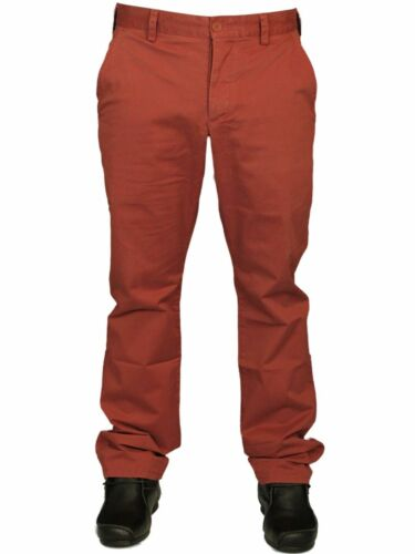 Homme pantalon chino french connection en camel /& pomme beurre couleur rrp £ 55.00