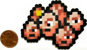 Details About Exeggcute Pokemon Mini Bead Sprite Perler Artkal Pixel Art Retro Lets Go