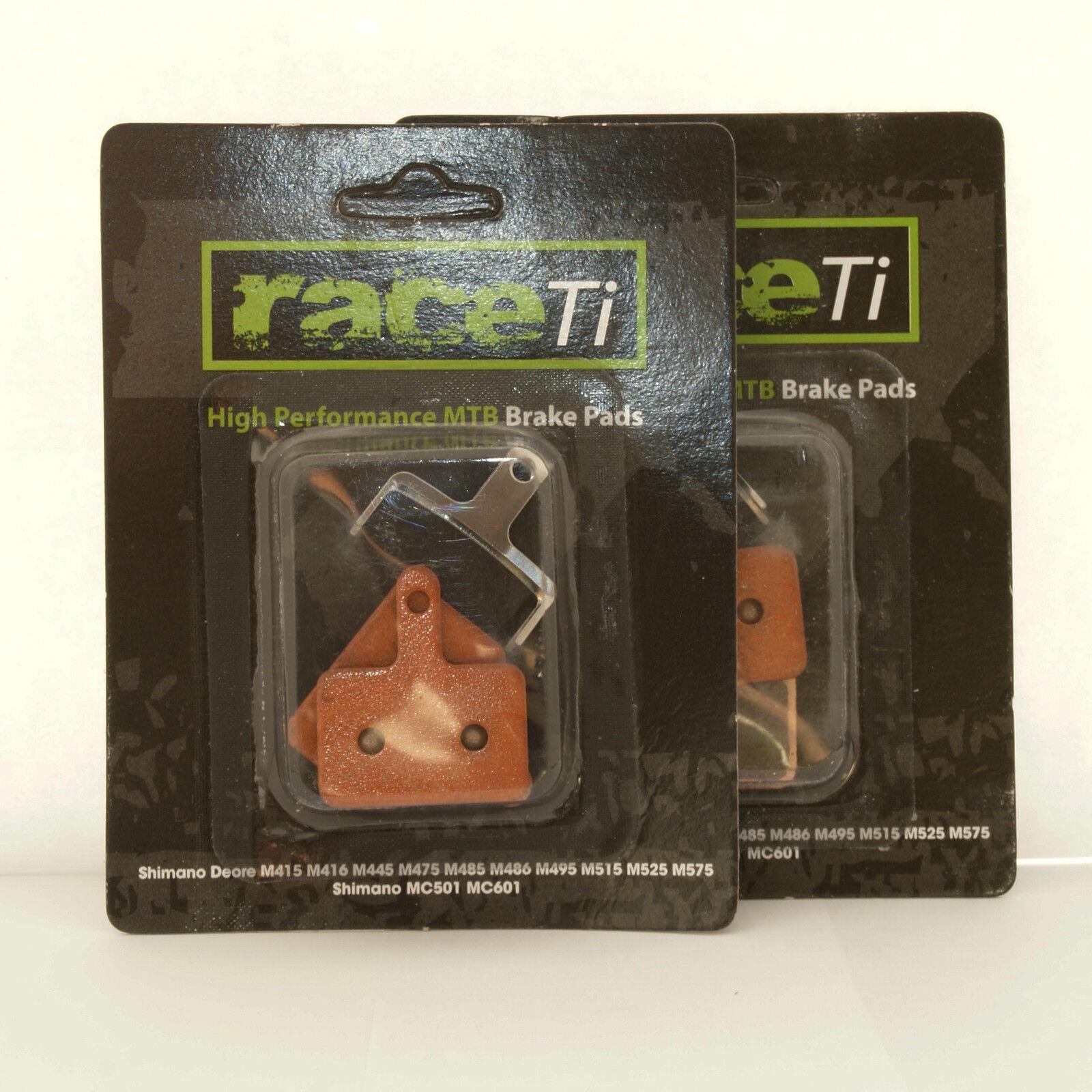 Shimano frein plaquettes de frein Shimano Fritté deore disc 515 525 486 485 M475 416 446 445 tektro 1ce6de