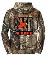 Realtree Ap Camo Hoodie Sweat Shirt Just Ride Sled 4 Life Snowmobile Ski Doo