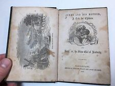 RARE Book - Jemmy and Mother & Lucy Kentucky Slave Girl 1858 Black Americana