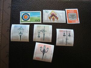Germany-Berlin-Stamp-Yvert-Tellier-N-560-A-566-Fold-N-MNH-COL4