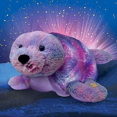 pillow pets glow pets plush 17 pillow stuffed seal with led lights ebay