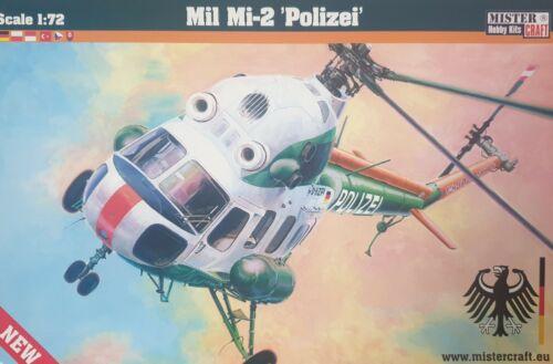 MISTERCRAFT® D-153 MiL Mi-2 Polizei in 1:72