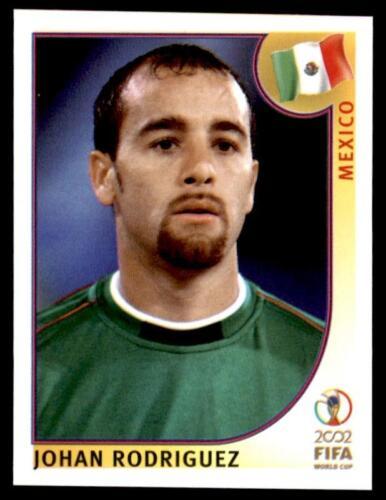 502 Johan Rodriguez Mexico No Panini World Cup Korea//Japan 2002