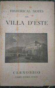 1938-GUIDA-E-STORIA-DI-VILLA-D-039-ESTE-A-CERNOBBIO-SUL-LAGO-DI-COMO-ILLUSTRATISSIMA
