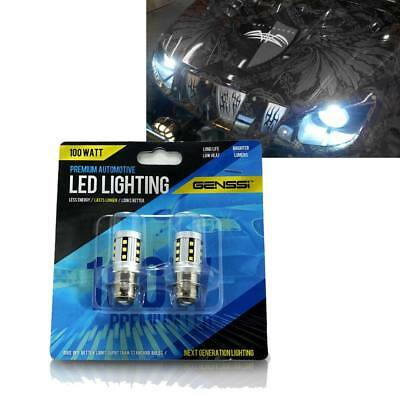 Yamaha Rhino 450 660 700 LED Bulbs 100w Headlights Super White Lights