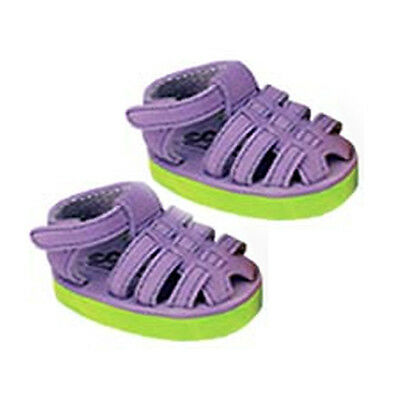 Purple Fisherman Sandals with Contrast Sole Fits 18 inch American Girl Dolls
