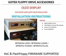 OLED DISPLAY HARDWARE MOD for GOTEK USB - HXC / FLASH FLOPPY Incl. Install Guide