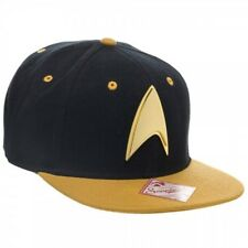 8b7a4f12fb4 item 1 Star Trek Gold Logo Snapback Baseball Hat Starfleet Command  Adjustable Black Cap -Star Trek Gold Logo Snapback Baseball Hat Starfleet  Command ...