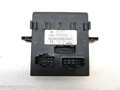 4F0907279B 4F0 907 279B Audi A6 Onboard Power Supply Control Module Unit BCM BCU