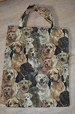Gobelin Tasche Einkaufstasche Sporttasche Shopper ♥ Multi Dogs Hunde Hund NEU