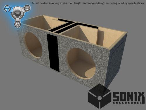DUAL PORTED SUBWOOFER MDF ENCLOSURE FOR SUNDOWN SA12 SUB BOX STAGE 1