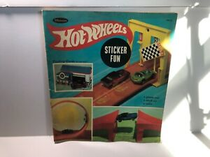 1968-Whitman-HotWheels-sticker-book-with-rare-cover