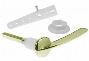 Gold Cistern Toilet Lever Handle
