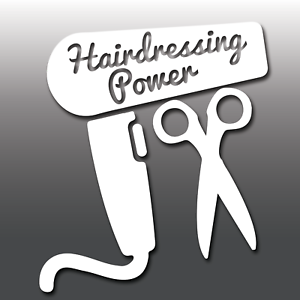 Details about 1x Funny Hairdressing Power Car Vinyl Decal Sticker | JDM |  Japanese | Miata