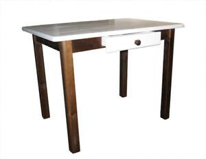 Kiefer Tisch mit Schublade massiv Küchentisch [ 9 ] !! NEU