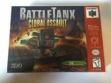 Battletanx Global Assault - Nintendo 64 - Replacement Case - No Game