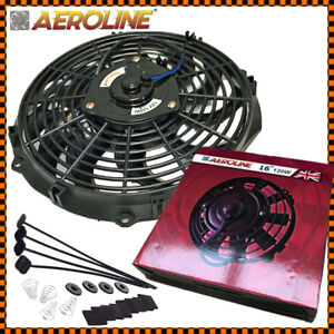 16 120w Aeroline High Electric Car Engine Radiator Cooling Fan