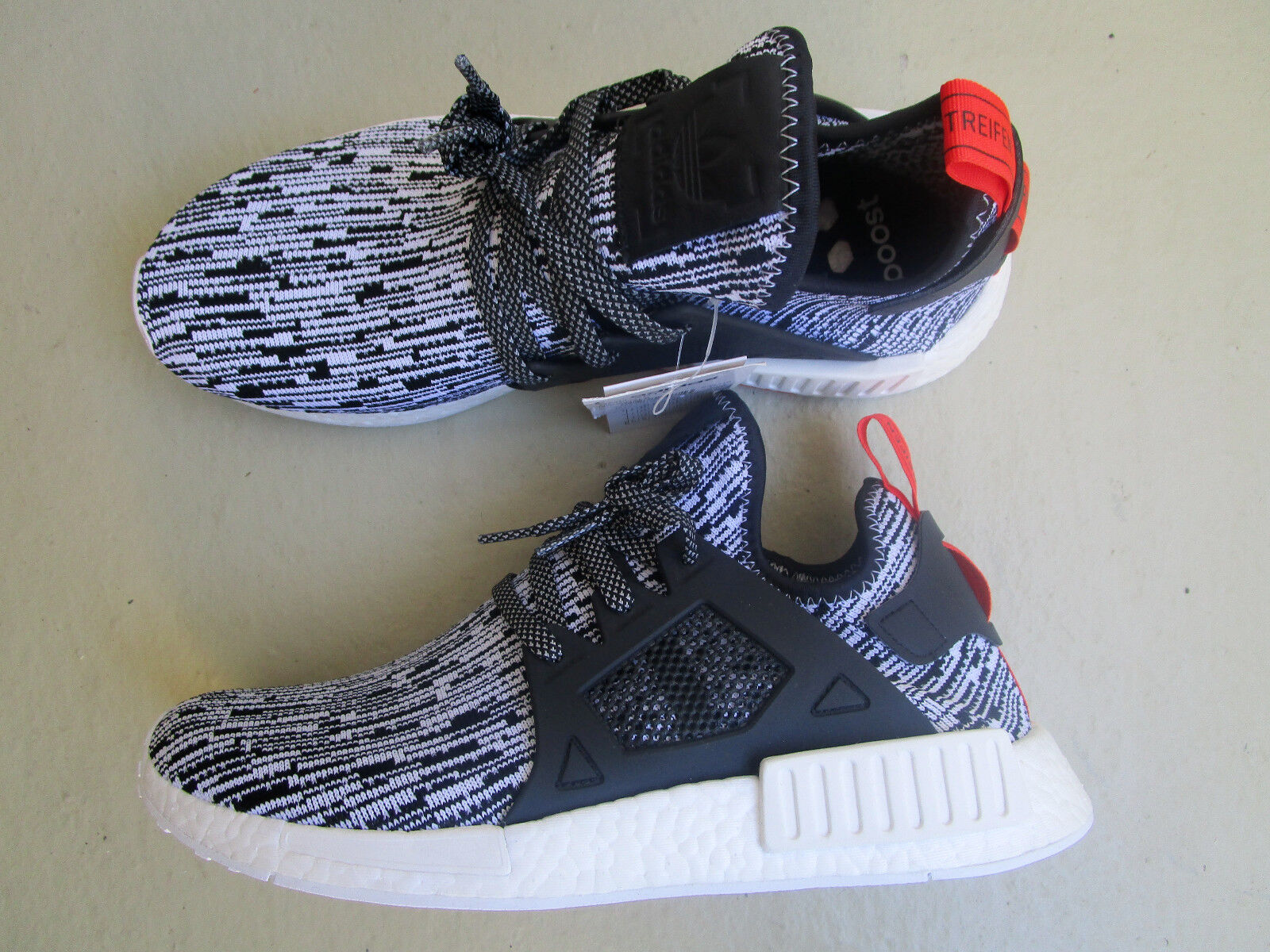 Adidas nmd XR 1 ftwr PK 45 1/3 Originals ftwr 1 Blanco/Core Negro/semi solar red b3a4d8