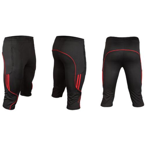 02018 Men/'s Soccer Football Athletic Training Running Track 3//4 3-Quater Pants