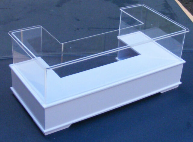 1:12 Scale White Colour Shop Display Counter Dolls House Miniature Accessory HWU