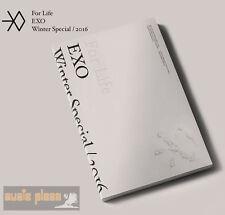 EXO WINTER SPECIAL ALBUM 2CD 2016 [ FOR LIFE ] CD+SPECIAL GIFT  SM KPOP