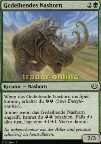 Kaladesh Magic 4x Gedeihendes Nashorn Thriving Rhino