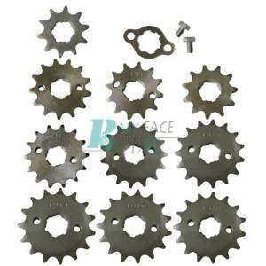 17MM-10-11-12-13-14-15-16-17-18-Tooth-Sprockets-ATV-Pit-Dirt-Quad-Bike-428-Chain