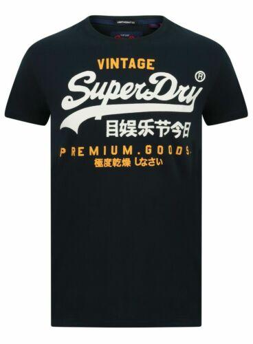 Superdry M10992NT A7P Premium Goods Duo Lite Tee Vintage T Shirt Nu Navy