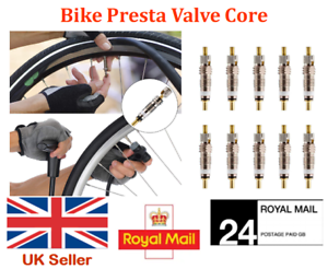 REPLACEMENT PRESTA VALVE CORES for Bicycle Mountain Bike MTB Road CX Tubeless UK