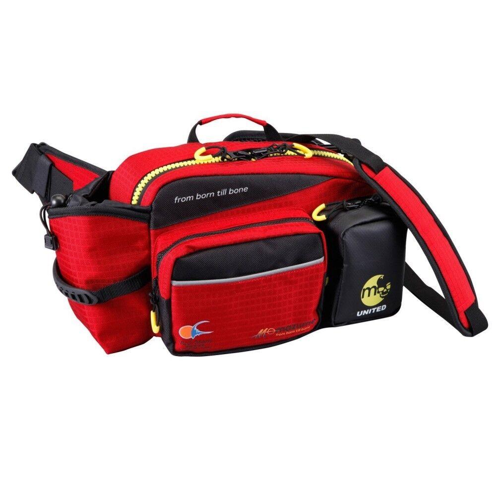 nuovo Mazume Rosso Luna Vita borsa3 Mzbk189 Borsa da Pesca Japan Import Con