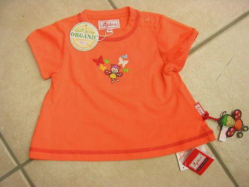 T-Shirt von Sigikid mit kurzem Arm NEU! orange mit Motiv