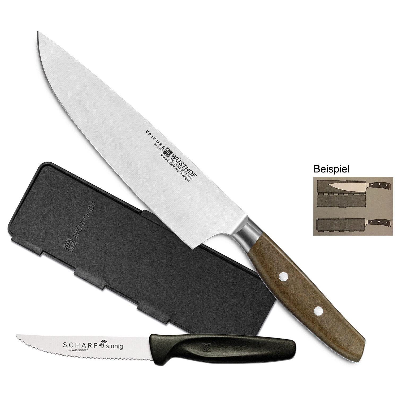 Wüsthof Epicure Solingen 3981-20 + Blade Guard + perspicace Pizza-couteau à viande