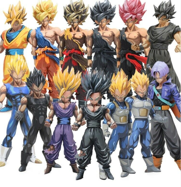 Dragon Ball Z action figure models Manga dimension style figurine toys 13version