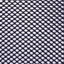 Expandable Aluminum Sheet Perforated Metal Black 24 In X 48 In Indoor Outdoor