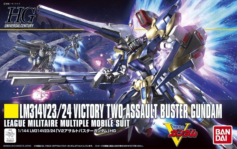 BANDAI HGUC 1  144 LM314V23  24 V2 ASSALT BUTER GUNDAM modellllerL KIT V Gundam