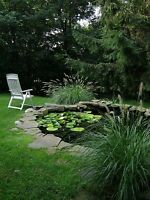 Garden Pond Liner 3.8m Wide - Suitable For Fish - Plants - Water Feature