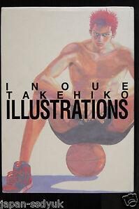 JAPAN-Slam-Dunk-Art-Book-Takehiko-Inoue-Illustrations