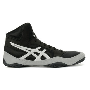 ASICS Men's Snapdown 2 Black/Silver Wrestling Shoes J703Y.001 NEW