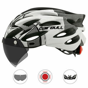 Adult Cycling Helmet MTB Mountain Road Bike Bicycle Helmet & Removable Goggles