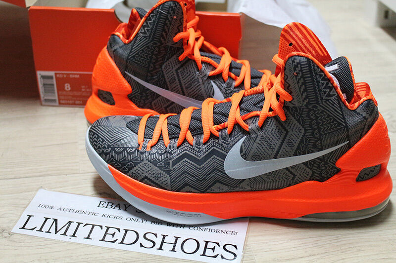 NIKE ZOOM KD V 5 BHM 583107-001   8.5 SIZE christmas aunt pearl elite all star