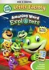 VG LeapFrog Letter Factory Adventures Word Explorers DVD Digi